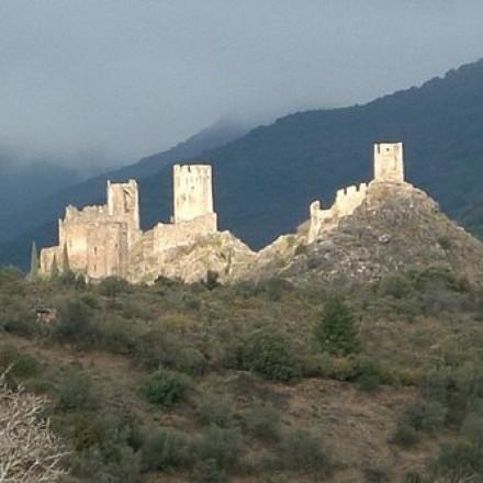 Les quatre Châteaux de Lastours