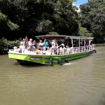 Bateaux Lou Gabaret et Hélios Canal du Midi