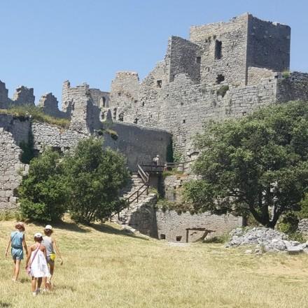 Château de Puilaurens - Puilaurens Castle