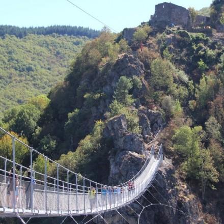 Himalayan footbridge of Mazamet